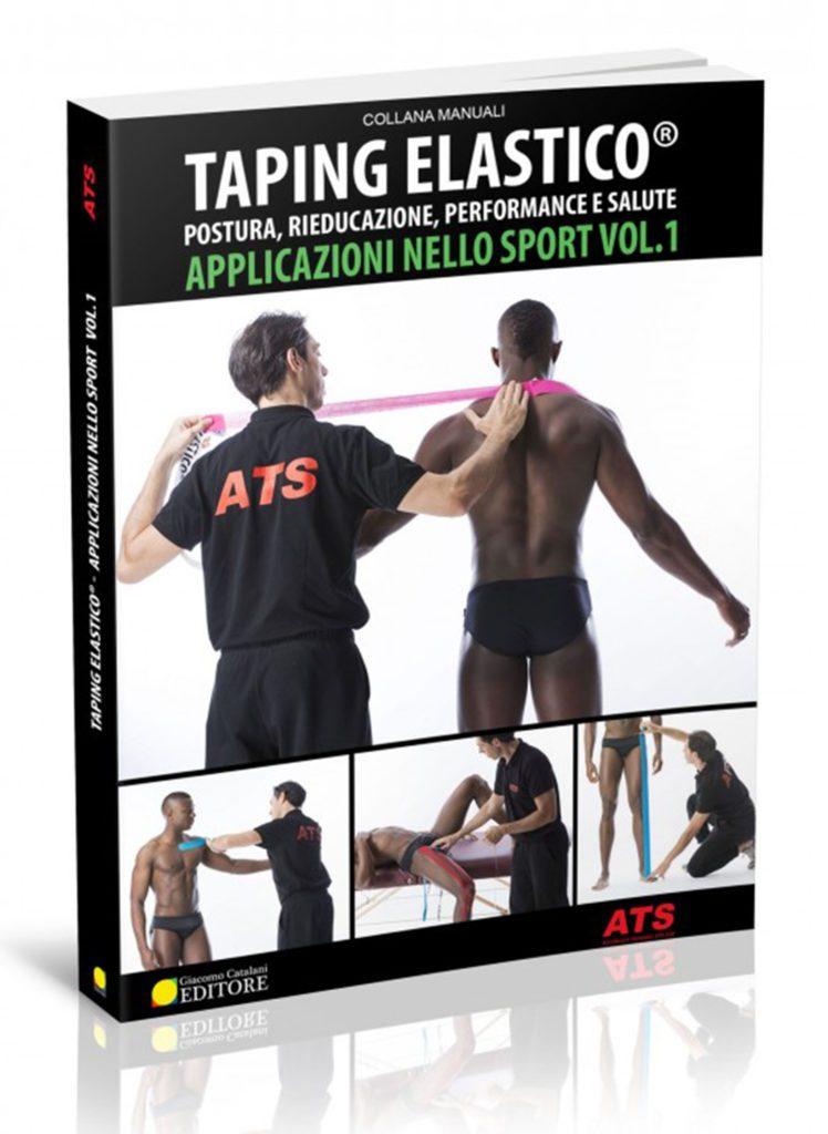 Libro-Taping Elastico Applicazioni nello sport